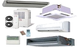 We supply service & repair a full range of split system air conditioner units.