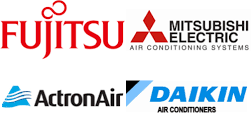 Our Air conditioning installation in Sydney, covers all major brands including, Daikin, Mitsubishi & Fujitsu.
