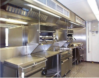 We supply and install commercial kitchen exhaust fans.